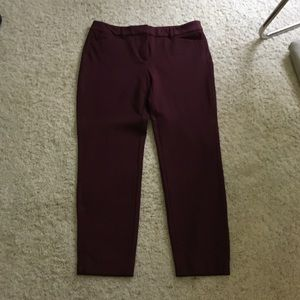 White House Black Market Pants - SZ 6 Slim ankle pants WHBM